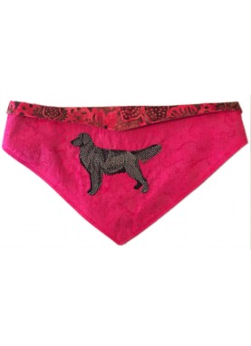 Golden Retriever Silhouette Bandana