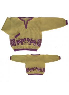 Elephant Baby Sweater