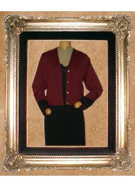 V-Neck Crop Jacket